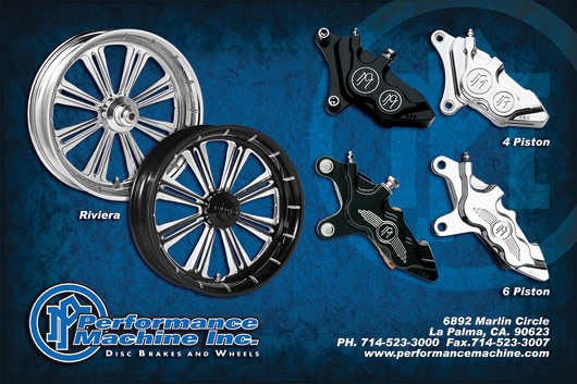 Performance machine wheels and brakes