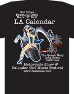 2011 LA Calednar Bike Show shirt