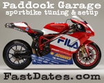 Paddock Garage sportbike tuning and suspension setup
