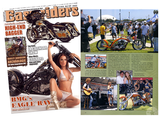 Easy Riders Europe feature report LA Caendar Motorcycle Show Weekend