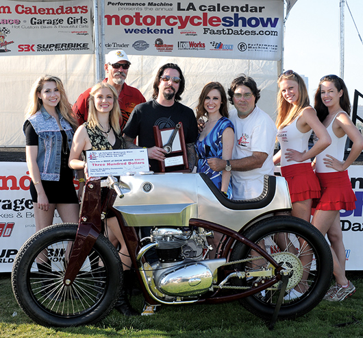 Chris Flechtner 2010 Best if Show LA Calendar Motorcycle Show