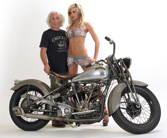 Crocker Motorcycle picture photo