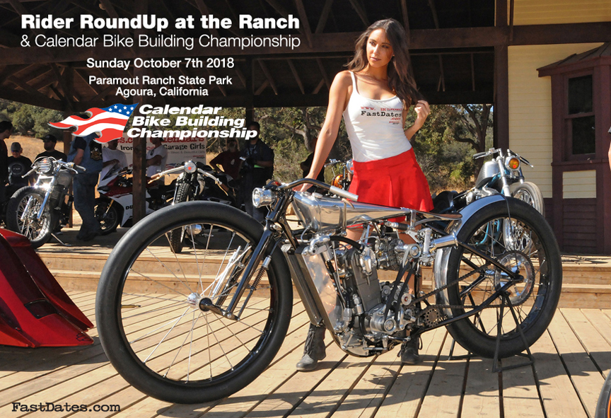 2018 LA Calendar Motorccyle Show & Rider RoundUp at the Ranch