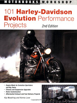 101 Harley-Davidson Evolution engine performance