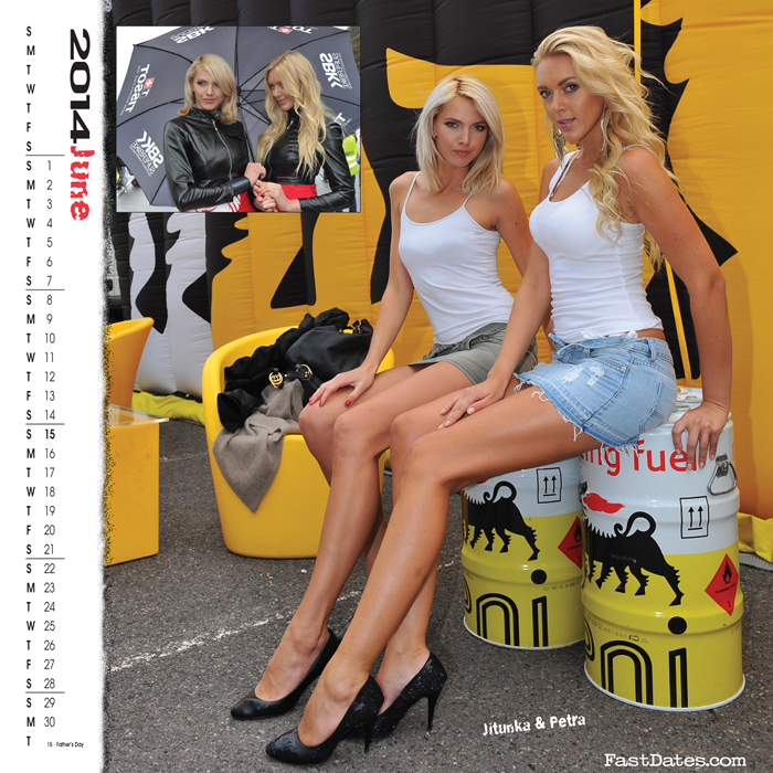 Garage Girls Calendar 2014