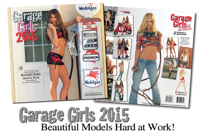 2015 Garage Girls  Calendar for sale