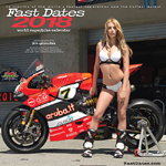 2012 Fast Dates World Superbike Calendar