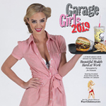 Order 2018 Garage Girls pinup calendar