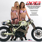 Iron & Lace custom motorccyle pinup model calendar