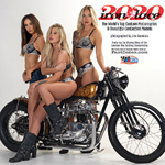 Iron & Lace custom motorcycle Calendar