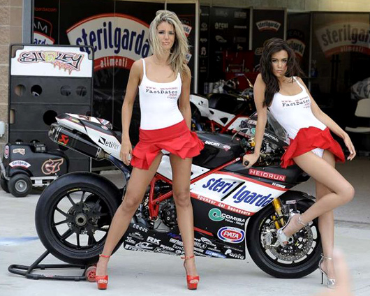Fast dates Calednar kittens, Shaey Byrene Steilgardo Ducati World Superbike