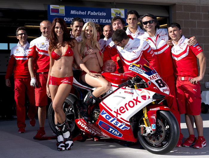 Ducati Corse World Superbike team