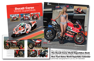 Ducati Corse World Superbike Book Collectors Package
