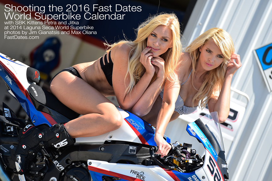 2016 Fast dates World Superbike Calendar Shoot