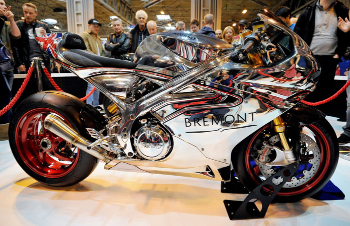 Norton V4 RR chrome carbon superbike photo photo details
