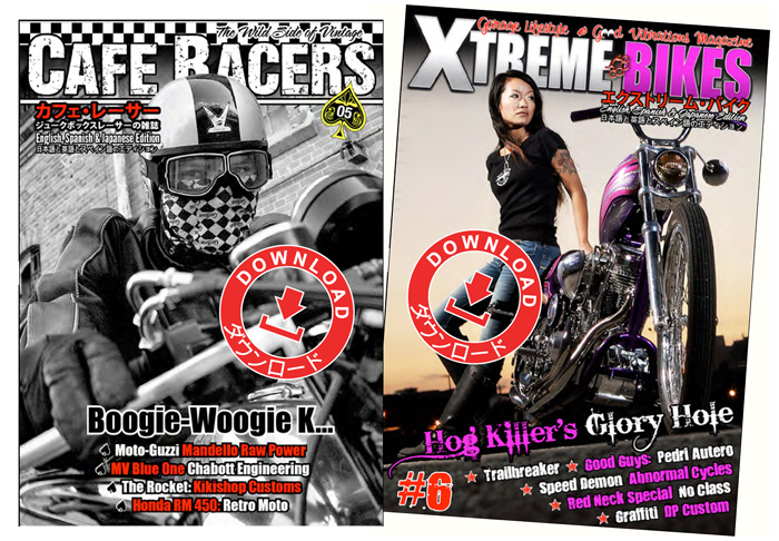 Xtreme Bies Cafe racers Magazine digital free download
