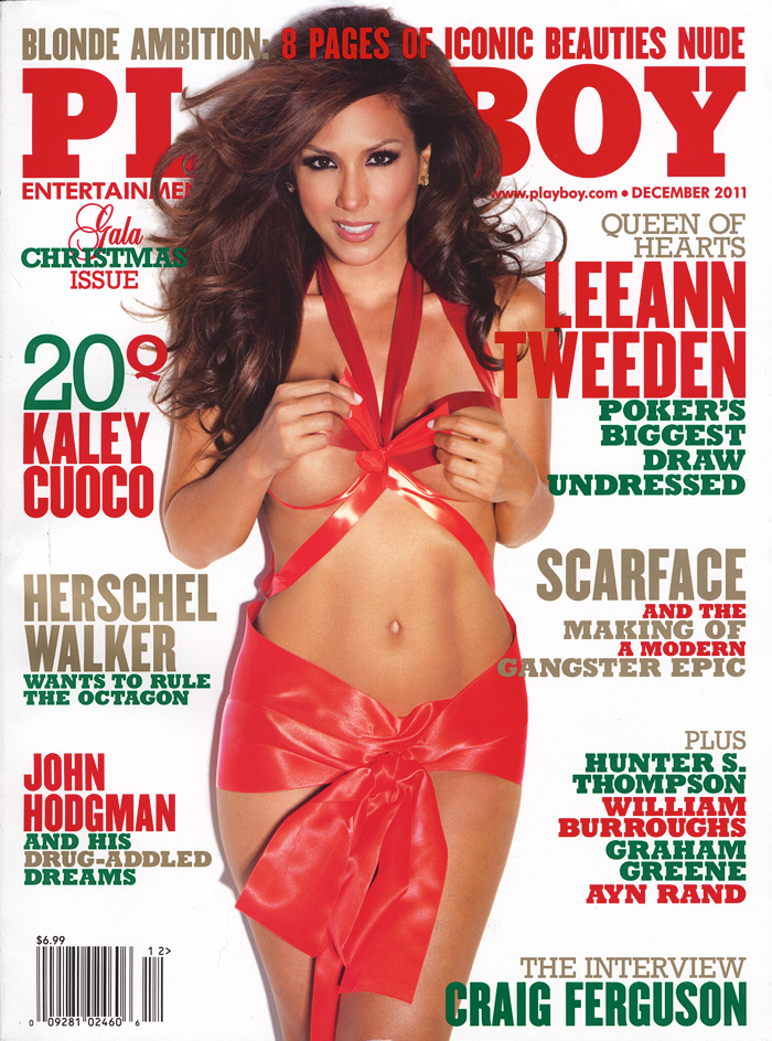 Lee ann Tweeden nude pictorial in Playboy magazine December 2012
