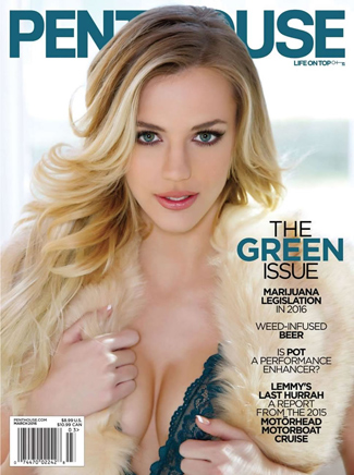 Blake Eden Penthouse Cover March 2016