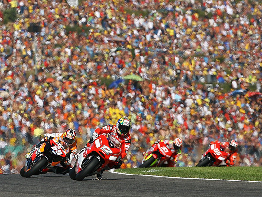 Troy Bayliss, Nicky Hayden, Valencia
