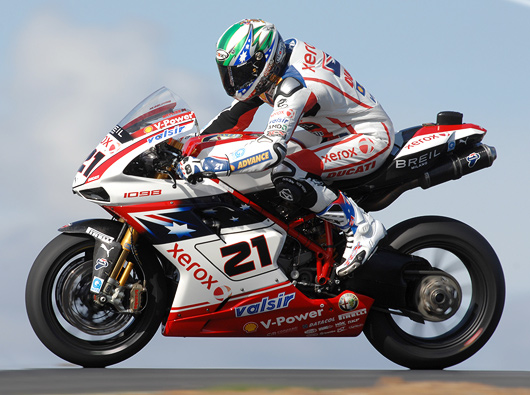 Troy Bayliss World Superbike Champion