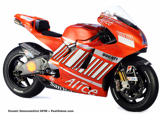 Ducati Desmosedici 2008 GP08 photo