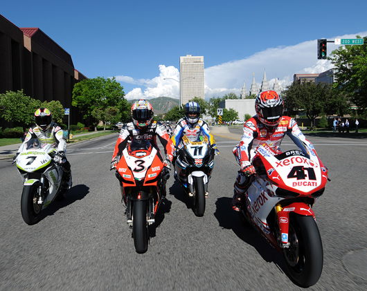 World Superbike salt Lake City Opening Ceremonies