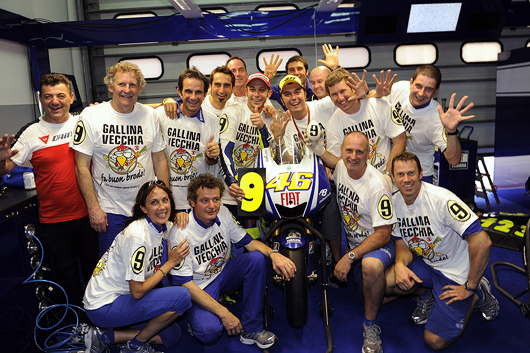 Valentino Rossi 2009 MotoGP World Champion