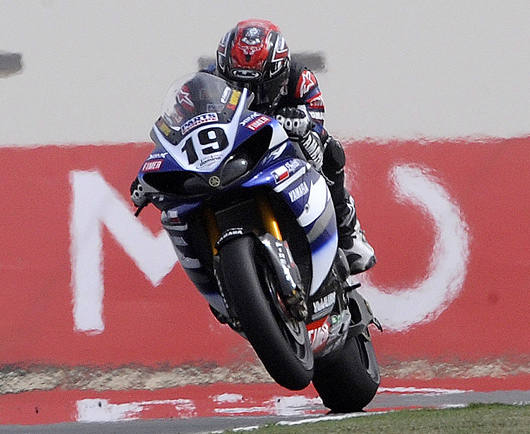 Ben Spies Losail World Superbike