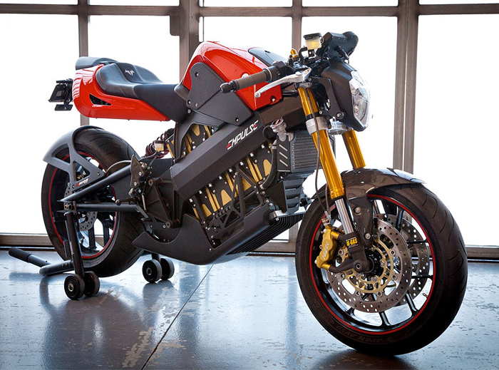 Brammo Impulse Electric motorcycle