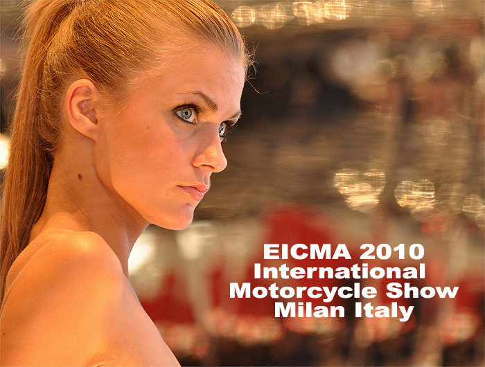 Coverage and photos of EICMA motorccyle show Milan Italy