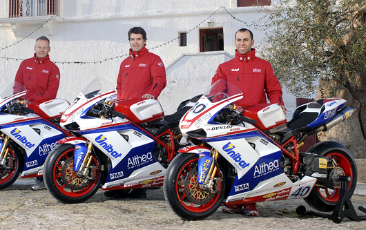 Althea racing World superbike team