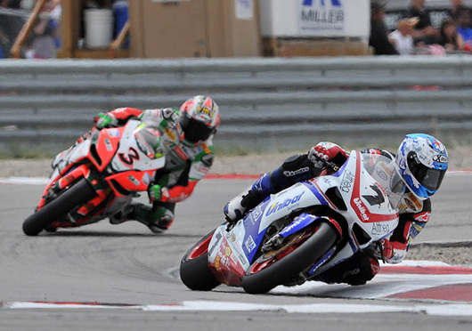 Checa Biaggi Miller Superbike action