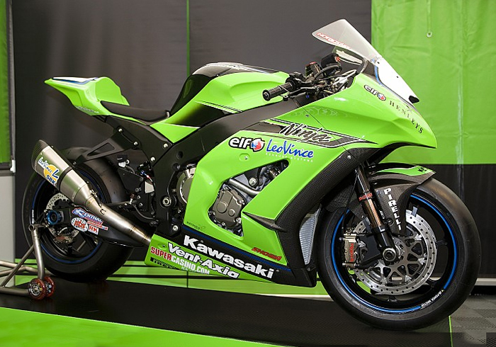 2011 Team Kawasaki ZX10 World Superbike