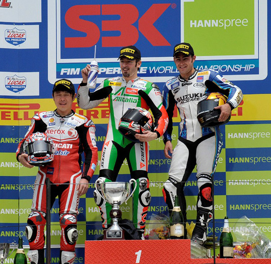 Miller World Superbike Podium