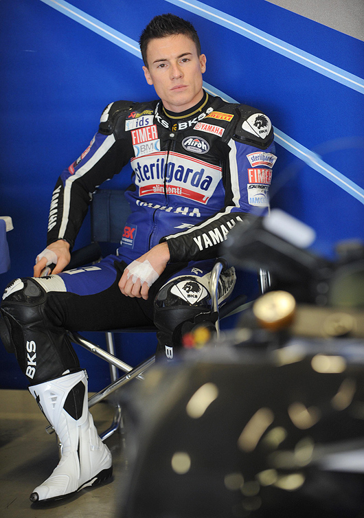 James Toselan World Superbike team yamaha