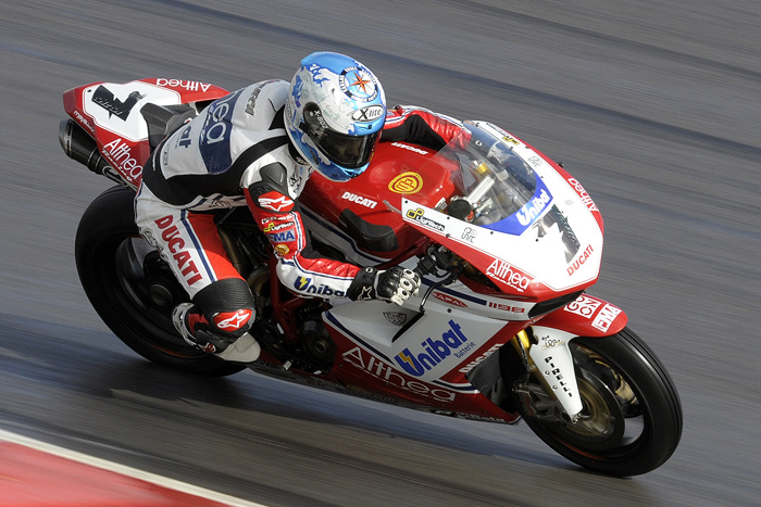Carlos Checa Althea Ducati