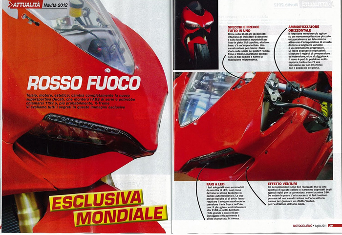 Ducati 2012 Superbike Generation 5 new