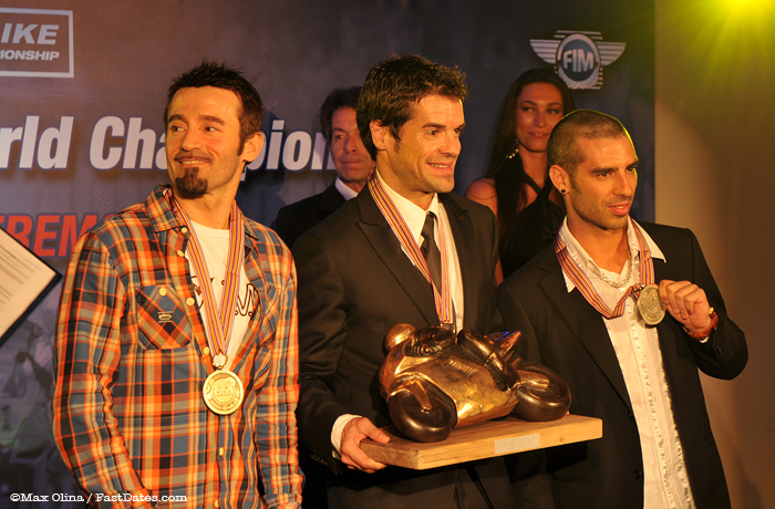 2011 World Superbike Champions Award Presentations
