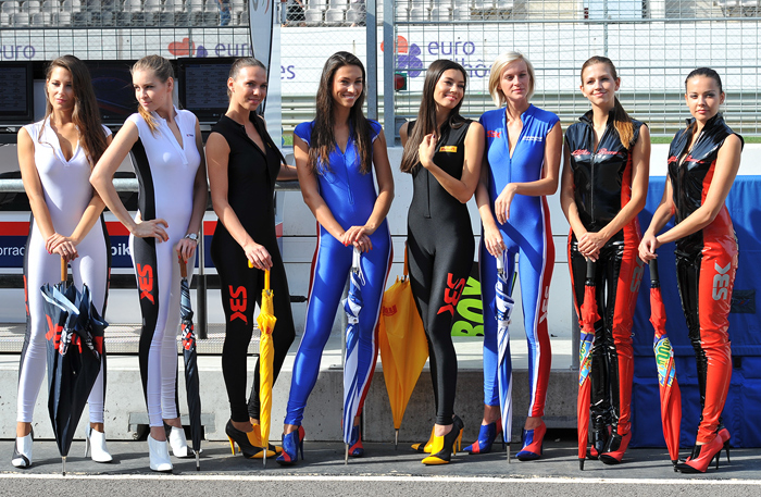 SBK World Superbike Grid Girls