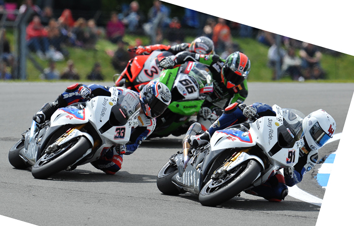 Donnington World Superbike raxe action photo