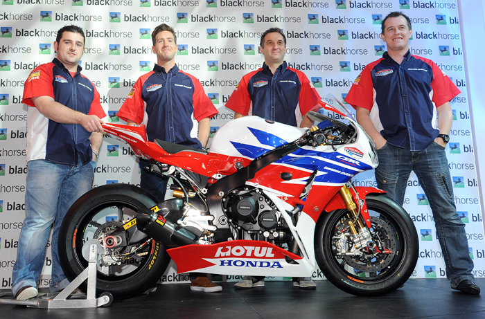Honda TT legends team 2013