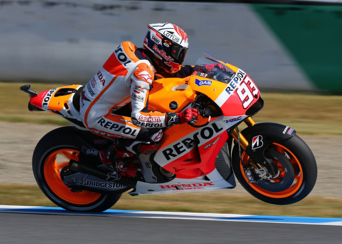 Marc marquez action photo