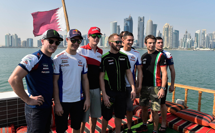 SBK riders at Dohar Qarater Losail photo