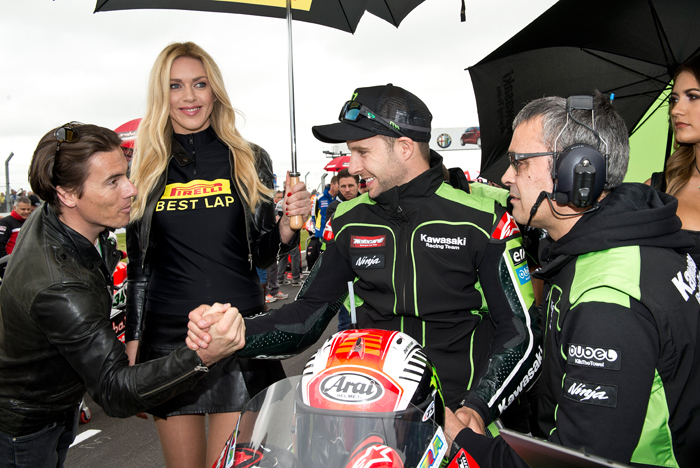 Ronthan Rea Fastest lap Race One Donington World Superbike