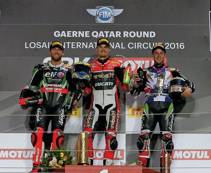2016 World Superbike Champions photo