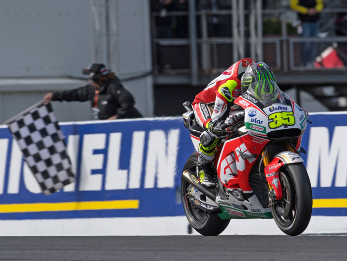 Cal Crutchlow winner Phillip Island MotoGP 2016 photo