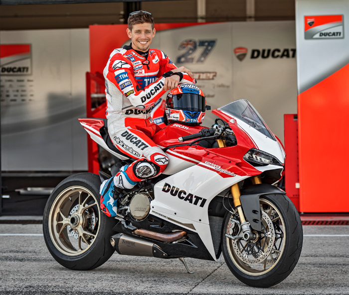 Casey Stoner Ducati Panigsle 1299S Special Edition