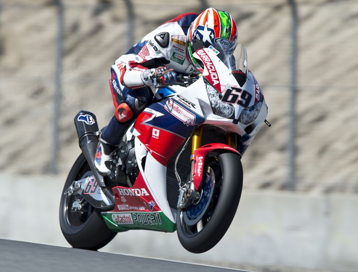 Nicky Hayden action photo