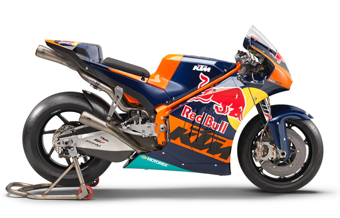KTM MotoGP bike RC16 motorcycle