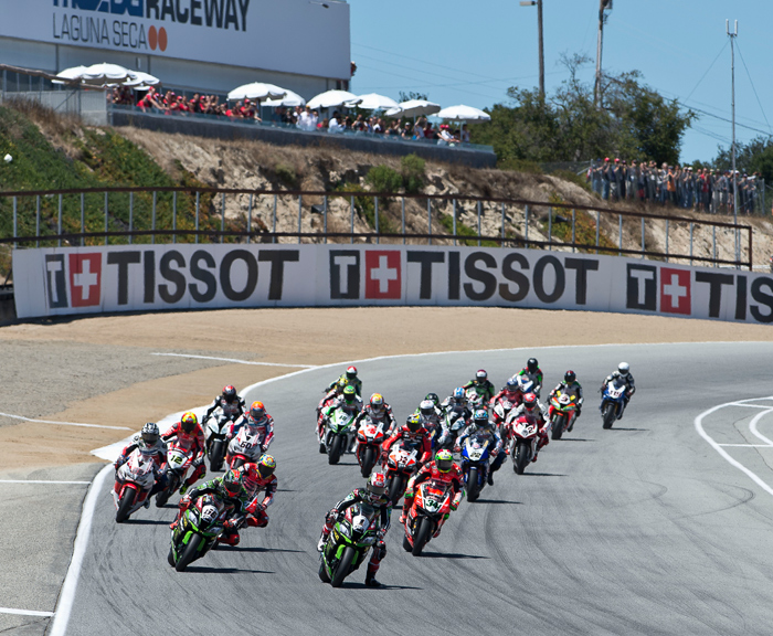 Laguna Seca Superbike start 2016